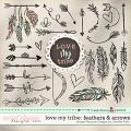 LOVE MY TRIBE: Feathers & Arrows Simple Pleasure Designs by Jennifer Fehr