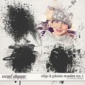 Clip it Photo masks no.1 by WendyP Designs
