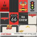 Remember the Magic: PIT STOP- CARDS by Studio Flergs