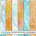 Packed And Ready | Extra Papers by Digital Scrapbook Ingredients