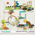 Playground Fun: Clusters by Meagan's Creations