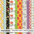 Smoothie Time - Bonus Papers by Red Ivy Design