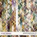 Plaid Party No.14 by WendyP Designs