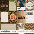 Scrap Your Stories: Zoo- CARDS by Studio Flergs & Kristin Cronin-Barrow