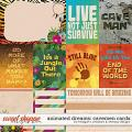 Animated Dream: cavemen - cards by Meagan's Creations & Wendyp Designs