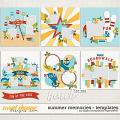 Summer Memories Templates by Digital Scrapbook Ingredients