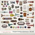 hinges brads & fasteners OH MY: Simple Pleasure Designs by Jennifer Fehr
