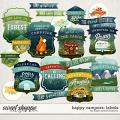 Happy Campers: Labels by Kristin Cronin-Barrow