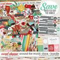 Around the world: China - Bundle by Amanda Yi & WendyP Designs