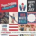 Out and About: Independence Day Cards by Grace Lee