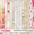 Strawberry Delight: Papers by River Rose Designs