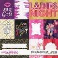 Girls night out - cards by WendyP Designs