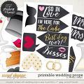 Printable Wedding props by WendyP Designs
