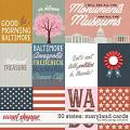 50 States: Maryland Cards by Kelly Bangs Creative