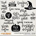 A Sweet and Spooky Halloween | Stamps by Digital Scrapbook Ingredients