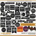 Cindy's Layered Templates - Label It: Halloween by Cindy Schneider