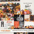 Meowy Howl-o-ween Bundle by lliella designs