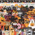 Meowy Howl-o-ween by lliella designs
