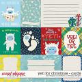 Yeti for Christmas: Cards by Meagan's Creations and WendyP Designs
