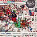 Christmas time | mistletoe & holly bundle: simple pleasure designs by Jennifer Fehr