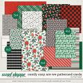 Comfy Cozy Are We Patterned Cards by Traci Reed