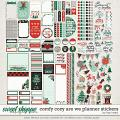 Comfy Cozy Are We Planner Stickers by Traci Reed