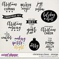 Christmas Cheer | Stamps by Digital Scrapbook Ingredients