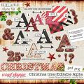 Christmas time | editable alpha kit: simple pleasure designs by Jennifer Fehr