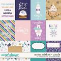 Snowflake Wishes Cards by WendyP Designs & Melissa Bennett