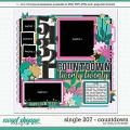 Cindy's Layered Templates - Single 207: Countdown by Cindy Schneider