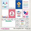 The Naughty List Journal Cards #2 by Traci Reed