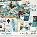 Winter Days Bundle by Digital Scrapbook Ingredients