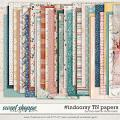 #indoorsy TN Papers by Studio Basic and Traci Reed