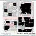 Cindy's Layered Templates - Set 240: Love & Marriage by Cindy Schneider