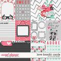 Love Bandit: Cards by River Rose Designs