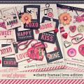 chatty frames LOVE edition: Simple Pleasure Designs by Jennifer Fehr