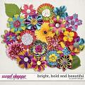 Bright, Bold and Beautiful Flowers by JoCee Designs