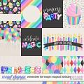 Remember the Magic: MAGICAL BIRTHDAY GIRL- CARDS by Studio Flergs