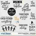 Stick Together | Stamps by Digital Scrapbook Ingredients