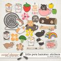 Little Pets Hamster Stickers by lliella designs