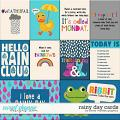 Rainy Day Cards by Clever Monkey Graphics