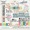 believe in your dreams word art: by wendyp designs & simple pleasure designs by jennifer fehr