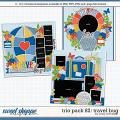 Cindy's Layered Templates - Trio Pack 82: Travel Bug by Cindy Schneider