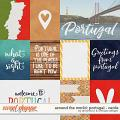 Around the world: Portugal cards by Amanda Yi & WendyP Designs