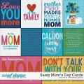 Sassy Mom's Day Cards by Clever Monkey Graphics