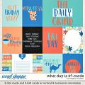 What Day Is It?-Card Pack by Meghan Mullens