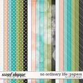 No Ordinary Life: Papers by River Rose Designs
