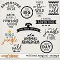 Wild And Magical | Stamps by Digital Scrapbook Ingredients
