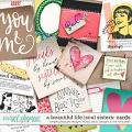 A Beautiful Life: Soul Sisters Cards by Simple Pleasure Designs & Studio Basic & The Nifty Pixel