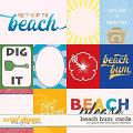 Beach Bum Cards by Grace Lee and Laura Wilkerson